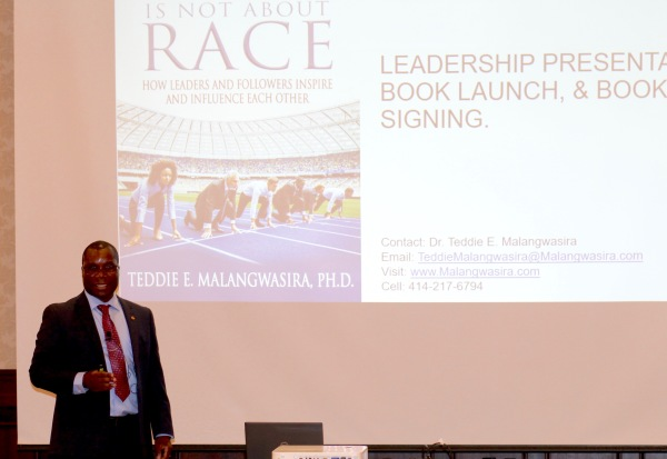 Dr. Malangwasira getting started